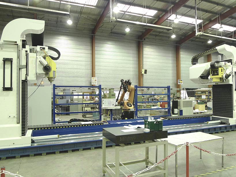 Centre de perçage LCD