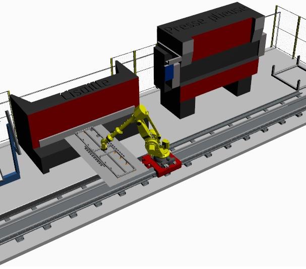 Modélisation 3D d'une machine spéciale