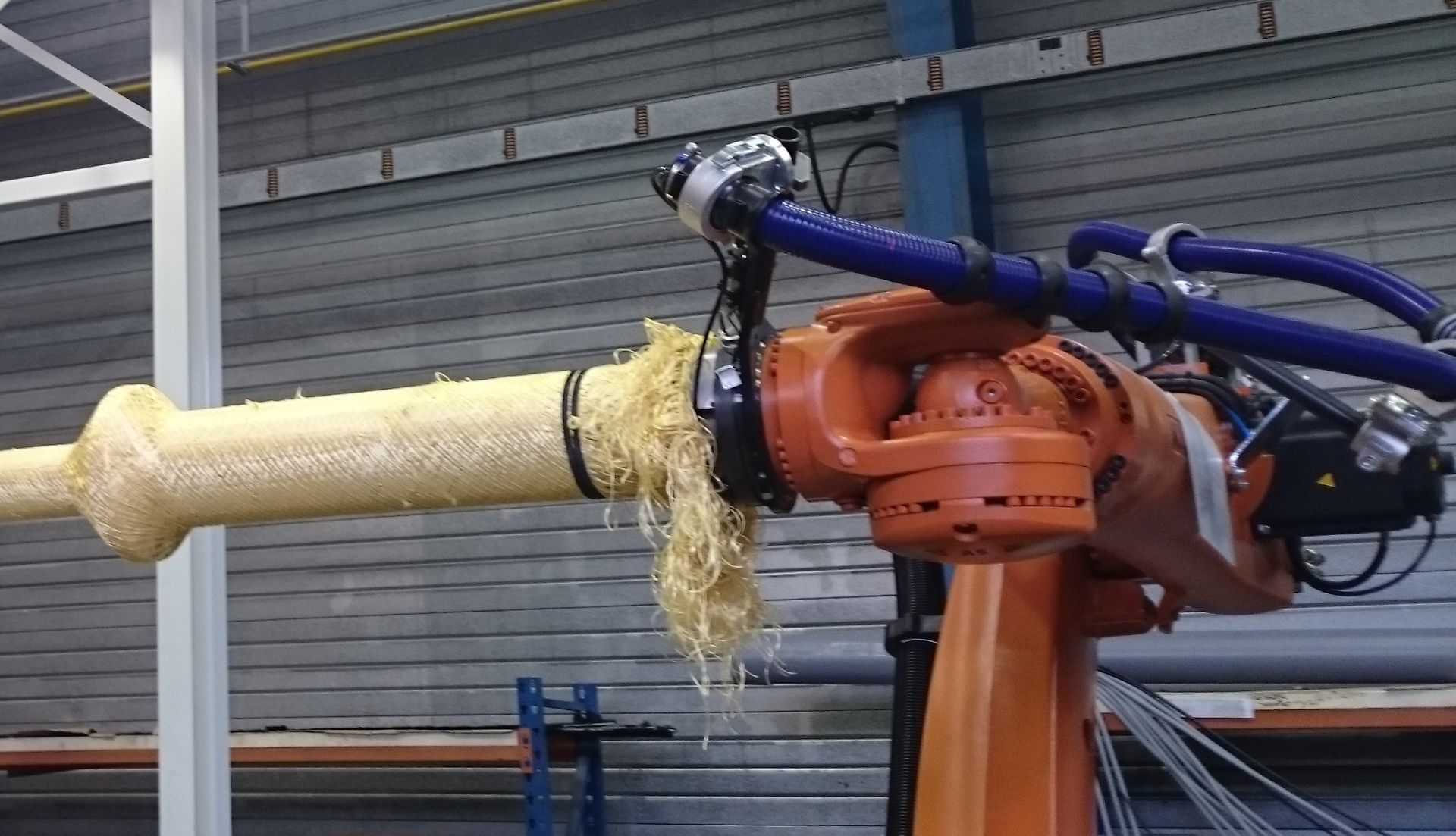 Robot Kuka - Machine Composite