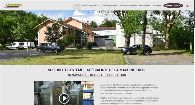 New website Sud Ouest Système